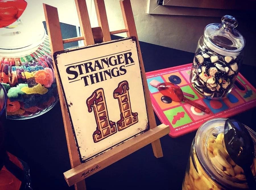 Belcat Monaco Stranger Things theme anniversaire