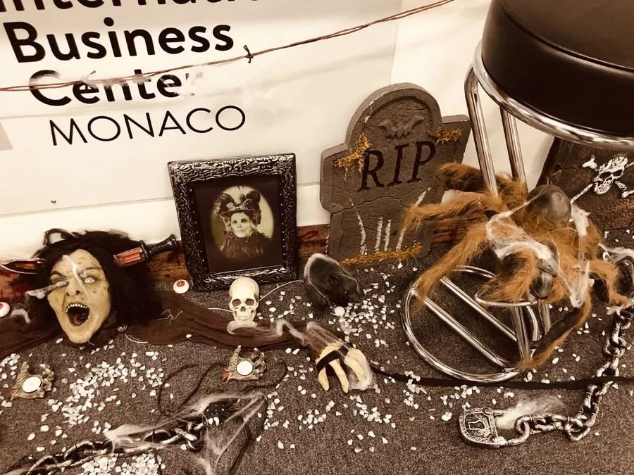 Halloween décoration événements Monaco