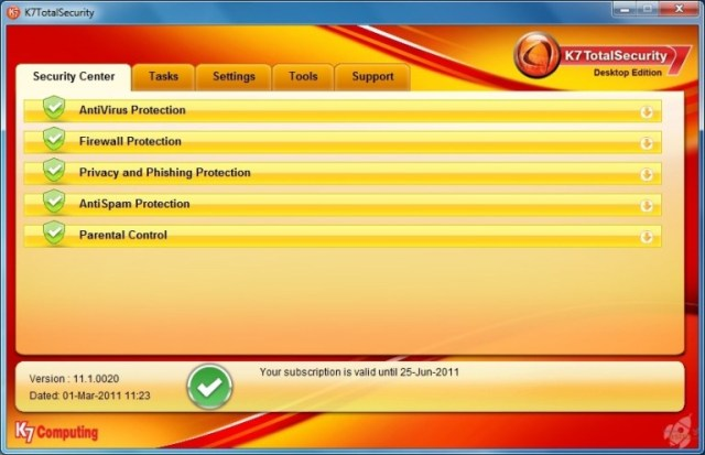 K7 Total Security 2019 Crack + Activation key   Free for Year