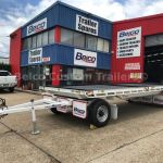 Custom Flatbed Trailers Designed To Suit Your Equipment Built By Belco