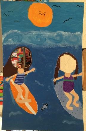 Photocall Arte en primaria