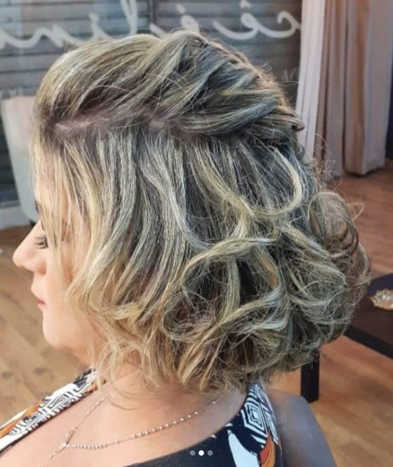 Cabelo Curto Feminino Penteado - penteados simples