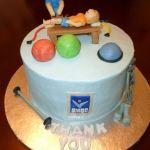 Happy birthday for physio terapist