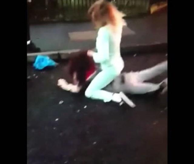 Video Shocking Footage Captures Young Belfast Women Brawling In The Street Belfasttelegraph Co Uk