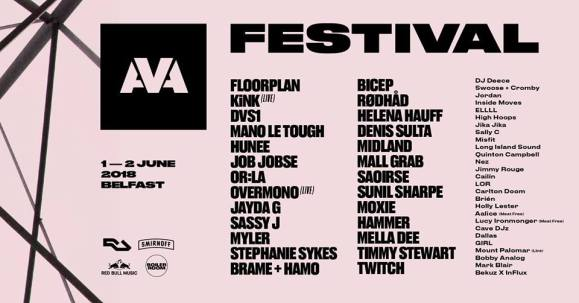 AVA 2018 Line up confirmed!