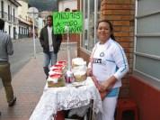 Street vendor. Great desserts!