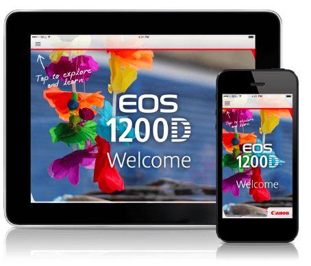 App canon eos 1200d