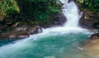Memotret Long Exposure Di Air Terjun Curug Panjang
