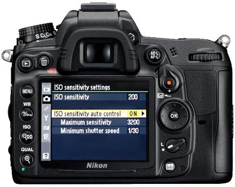Nikon auto iso d7000