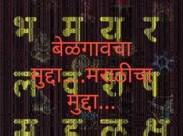 Marathi issue