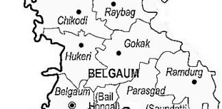 Belgaum district map