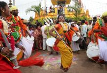 Kittur utsav procession