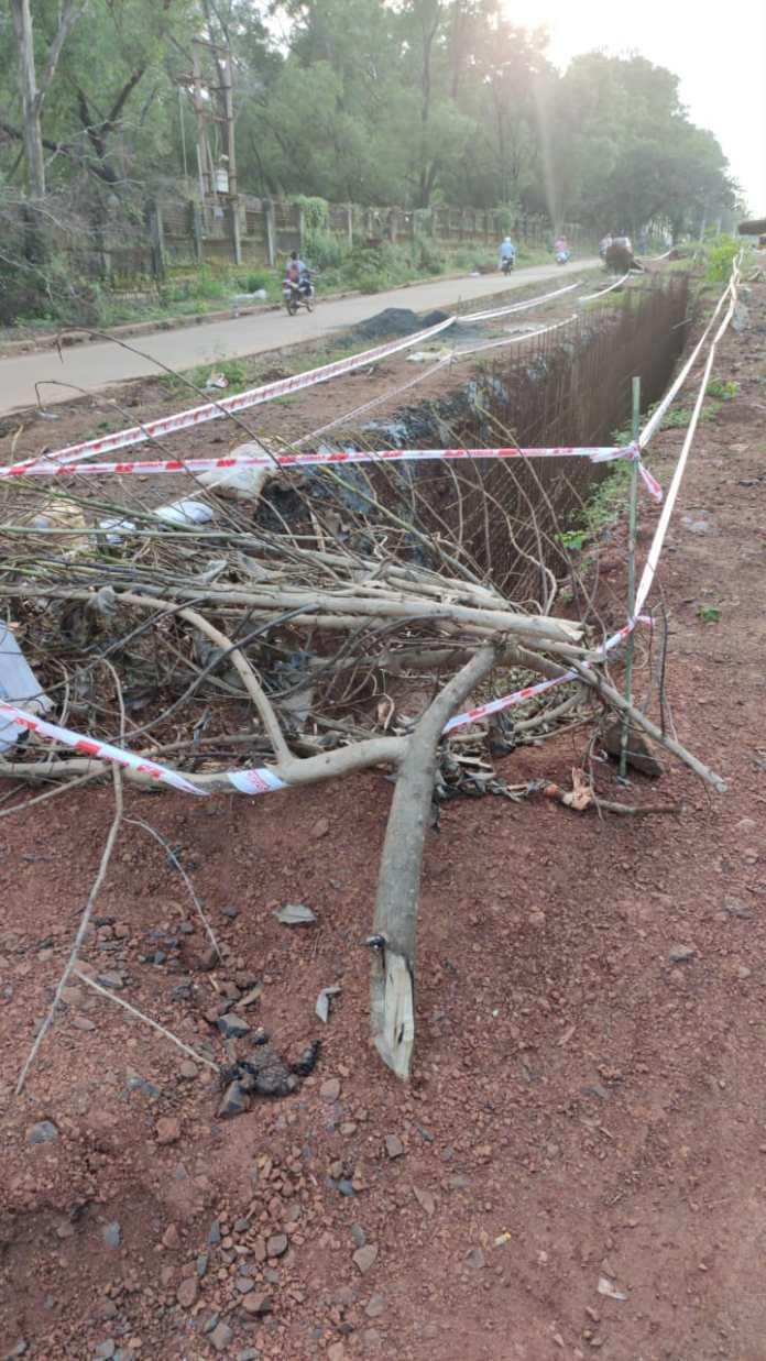 Mandoli road pathholes