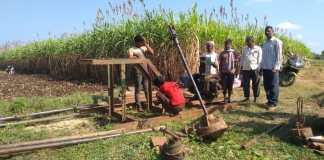 Nandihalli farmers oppose