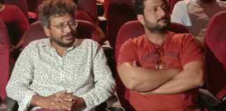 Actor Jitendra joshi director sanket kulkarni @ short film fest belgaum inox