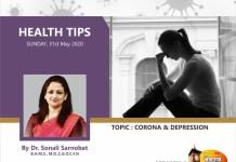 Depression and covid 19