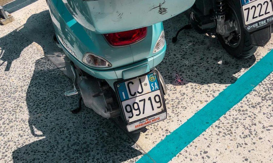 Vespa parking