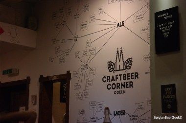 Craft beer in Köln at Craftber Corner