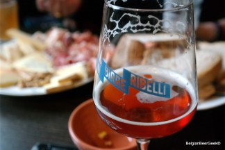 GIST, centre of Brussels. Fabulous bar....Good artisan beer, perfect service and selected cheese and charcuterie