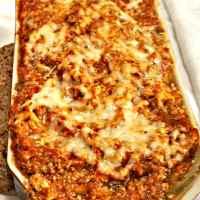 Vegetarian Eggplant Lasagna - Gluten Free