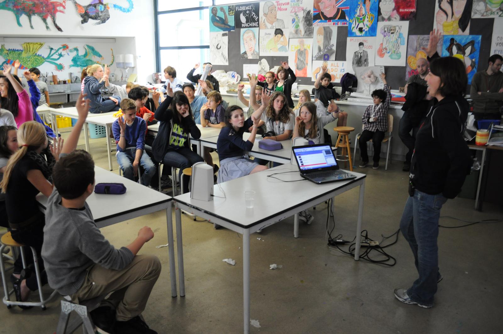 The Rachel S Challenge Organisation Visits Middle School