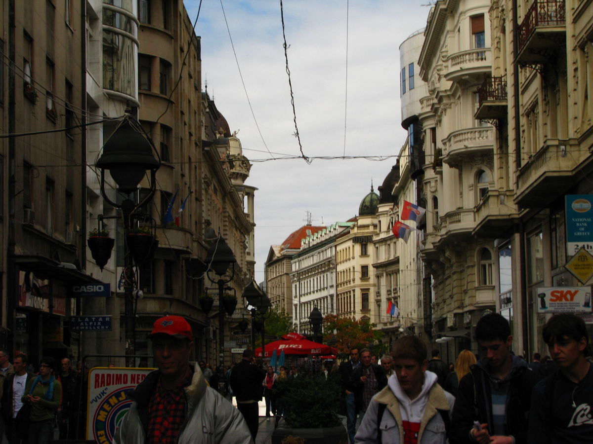 Knez Mihailova Street Belgrade My Way