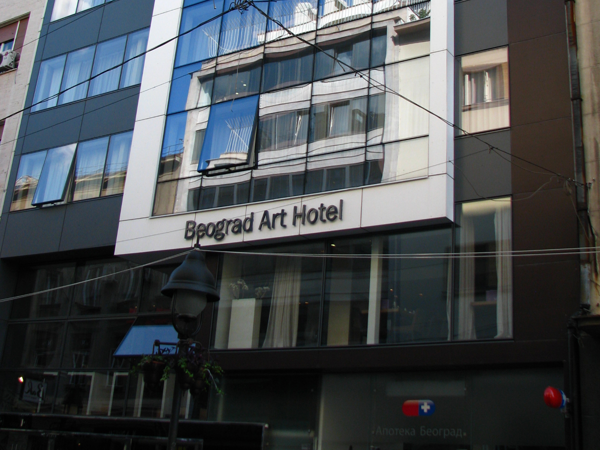 Beograd Art Hotel Belgrade My Way