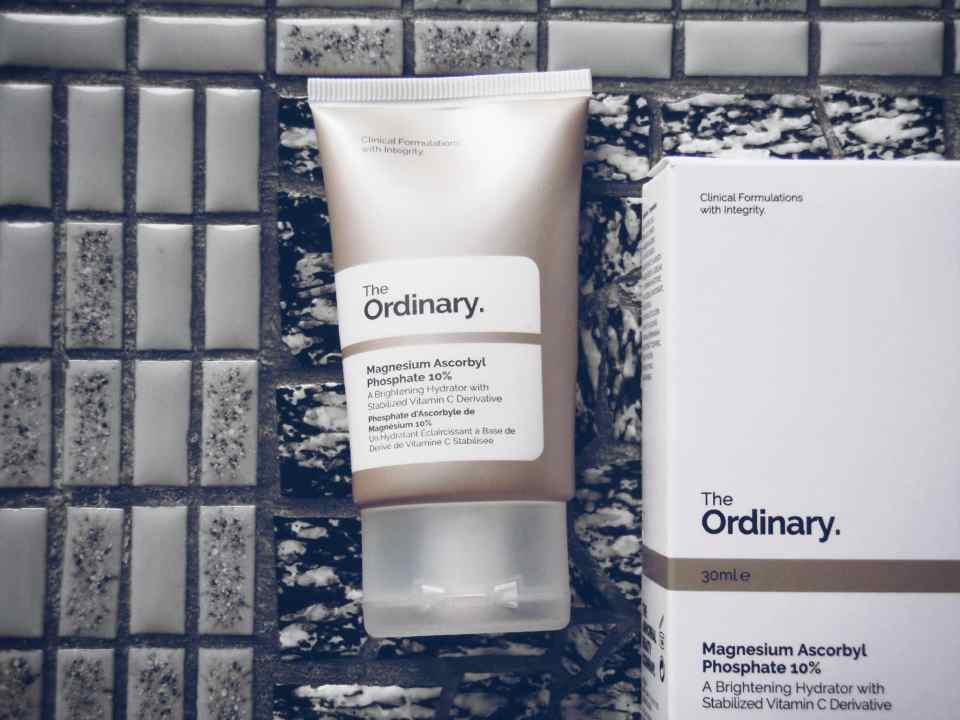 """The Ordinary """" Magnesium Ascorbyl Phosphate 10 % """" Review"""