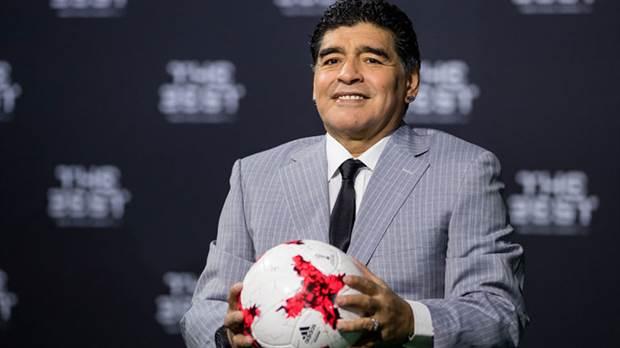 Maradona participará en el sorteo del Mundial