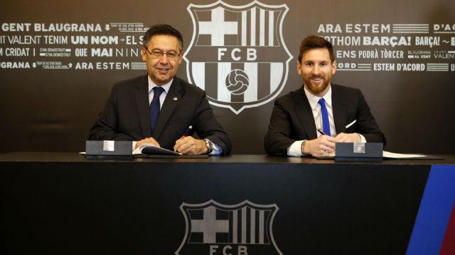 ¿Qué oferta rechazó Messi para quedarse en Barcelona?