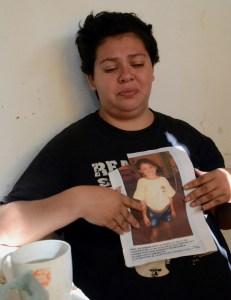 Mayra Sidra, madre de Abril Sosa