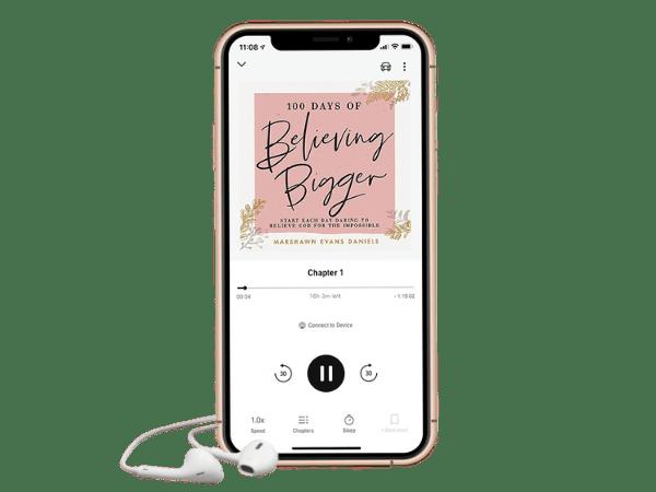 100 Days of Believing Bigger Audiobook