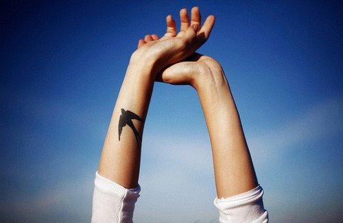 BB Freedom tatto