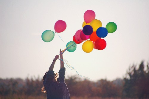 BB Girl with Balloons