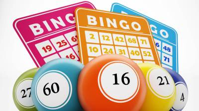 bingo boards and balls