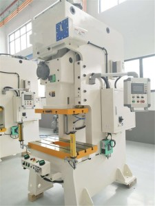 upright rack roll forming machine feeder and punch press