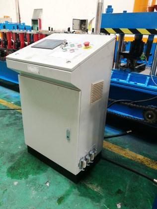 guardrail machine controlled cabinet