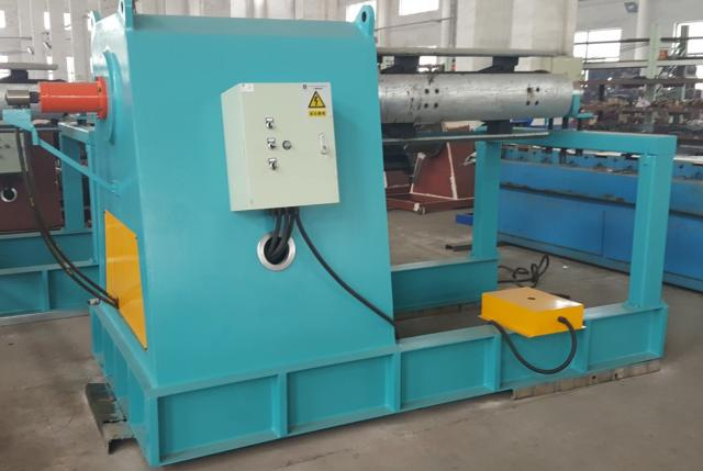 floor deck roll forming machine uncoiler