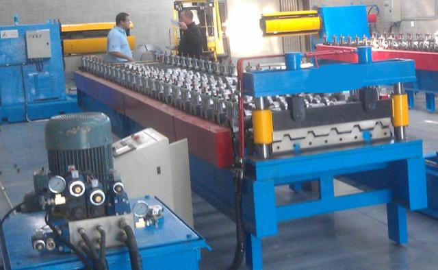 ibr roofing sheet making machine line