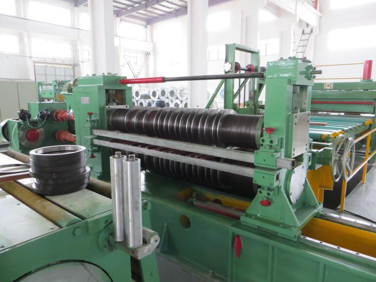 coil steel slitting line slitter
