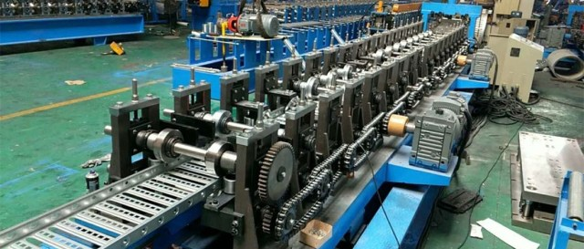 cable tray roll forming machine video 1