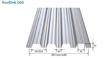 Metal Roof Deck D60
