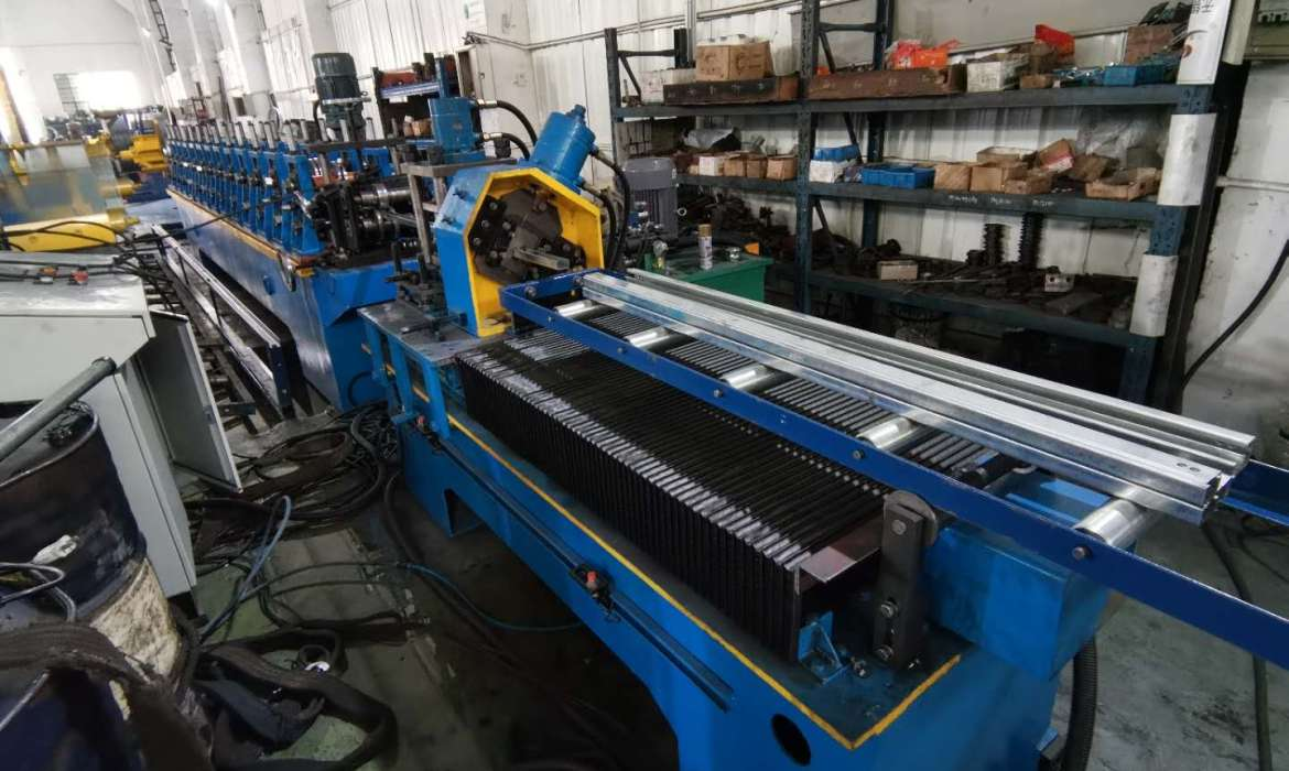 c bracing section roll forming machine