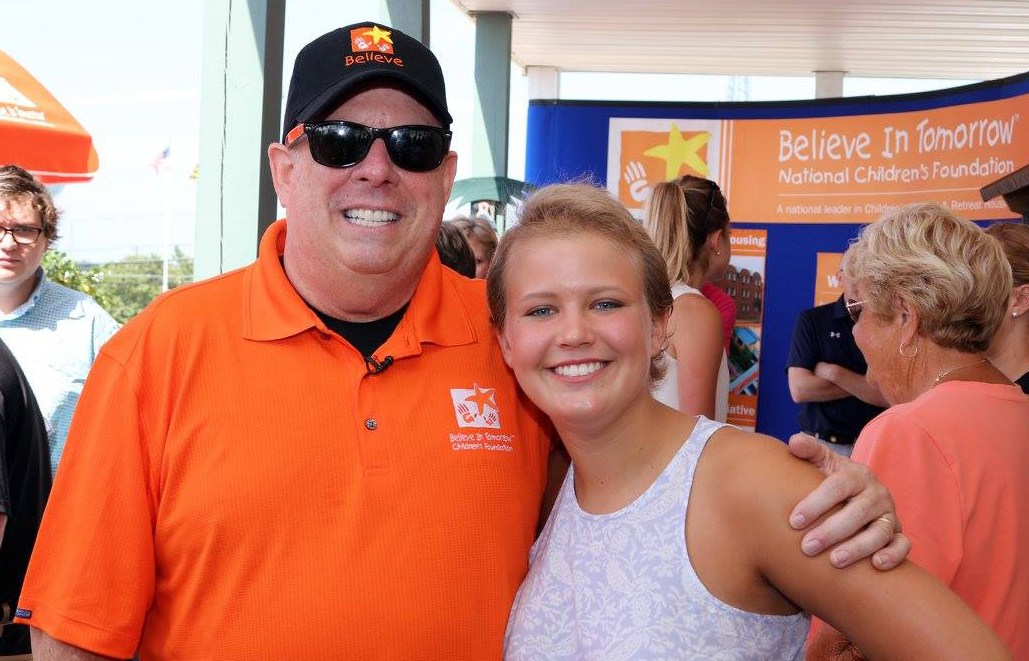 Maryland Governor Hogan Believe In Tomorrow Visit