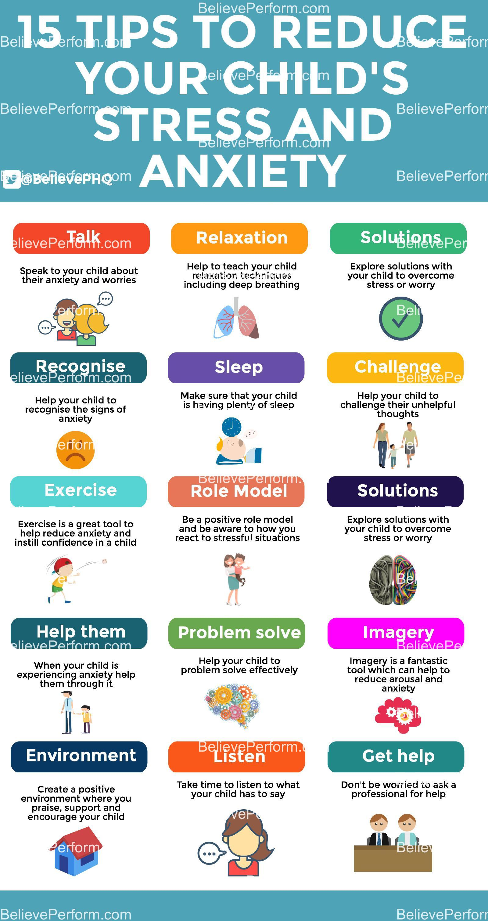 15 Tips To Reduce Your Child S Stress And Anxiety