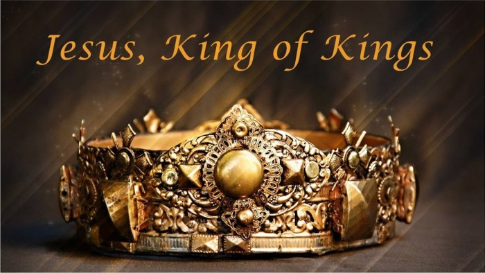 Jesus is King of kings