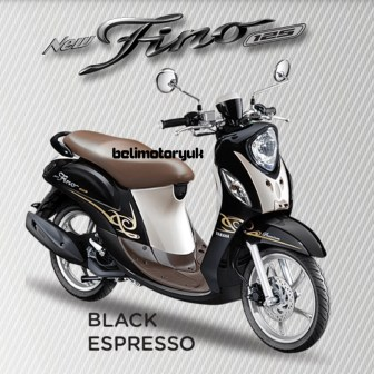 new fino 125 Blue core Premium black espresso