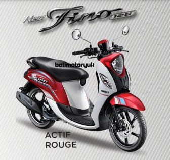 new fino 125 Blue core spoty actif rouge