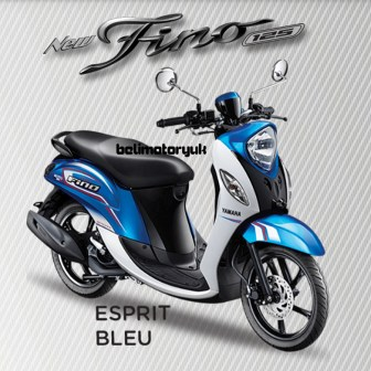 new fino 125 Blue core spoty esprit bleu