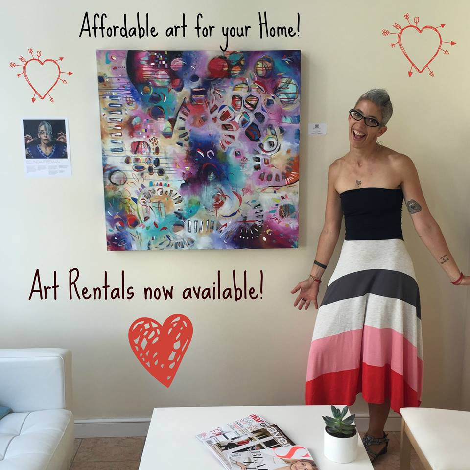 Original Paintings & Art Rental